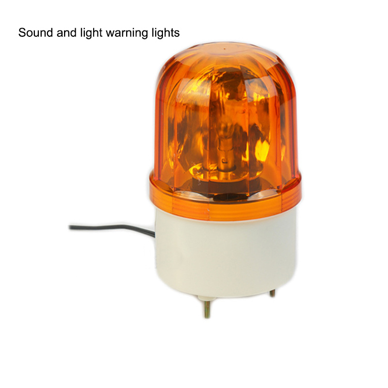 Audible And Visual Alarm Rotating Flashing Warning Light 12v24v220v WaterProof Car LED Warning Light Safety Traffic Lights
