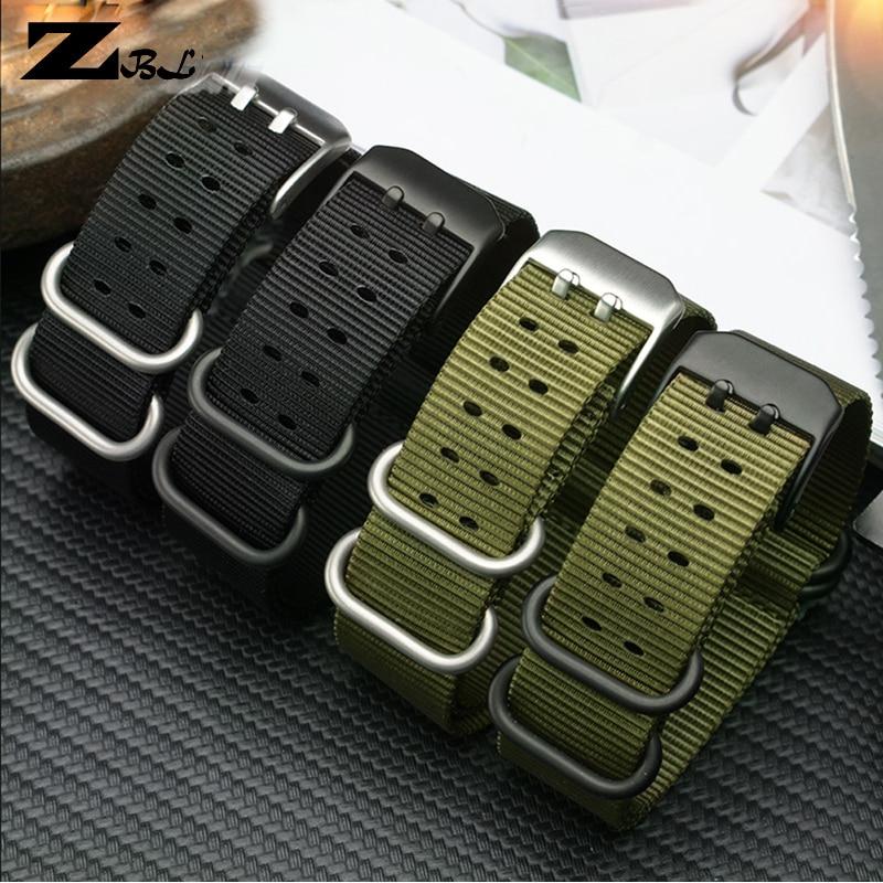 Нейлоновый ремешок для часов 22 мм 23 мм, водонепроницаемый спортивный ремешок для часов luminox, ремешок для часов nato, модный браслет, браслет дл...