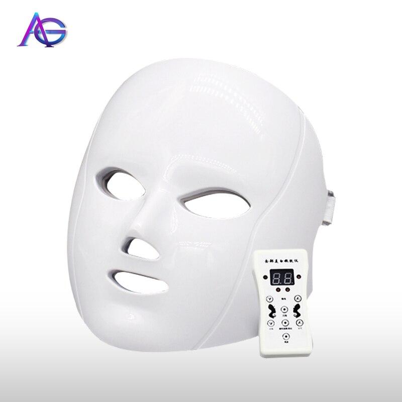7 Color LED Facial Mask Beauty Instrument Face Skin Rejuvenation Beauty Skin Care Face Mask