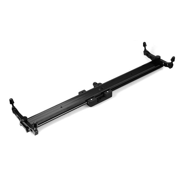 Commlite 60cm 슬라이딩 패드 비디오 트랙 슬라이더 DSLR 캠코더 용 돌리 안정기 시스템