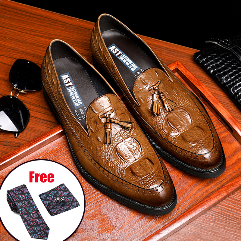 Best Discount #bfb2 Phenkang Mens Leather Shoes Genuine