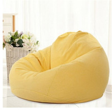 Organizer Bean-Bag Chair Sofa-Cover Lounger-Seat Living-Room Without-Filler 70x80cm 1PC