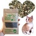 Игрушка для кошек органический 100% натуральный Премиум кошачий скот трава 10 г ментоловый аромат забавная игрушечная Кошка Интерактивная ко...