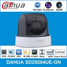 Dahua English Original MINI PTZ 4x optical zoom Starlight New model SD29204UE GN replace for SD29204T GN,free shipping