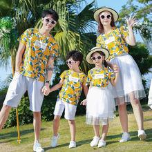 Одежда для всей семьи; 2020 Лето папа футболка сына + шорты