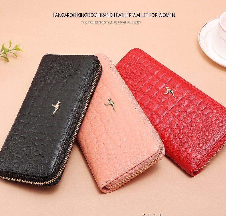 Canguru reino moda famosa marca feminina carteiras