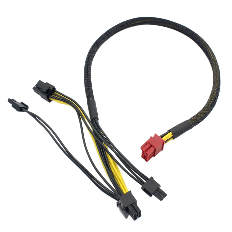 Pci-E Image Card Modular Power Cable 8Pin To Dual 8(6+2)Pin For Antec Eco Tp Np Series 18Awg