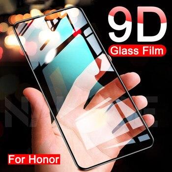 Перейти на Алиэкспресс и купить 9D закаленное стекло для Huawei Honor 30 20 10 9 Lite Защитное стекло для экрана Honor 30S V30 V20 V10 V9 Защитная стеклянная пленка