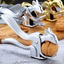Pince à écrou en forme d'écureuil, en forme d'amande, de noix de pécan, de casse-noisette, de noisette, de cuisine, pince à épiler, ouvre-écrou P E9W5