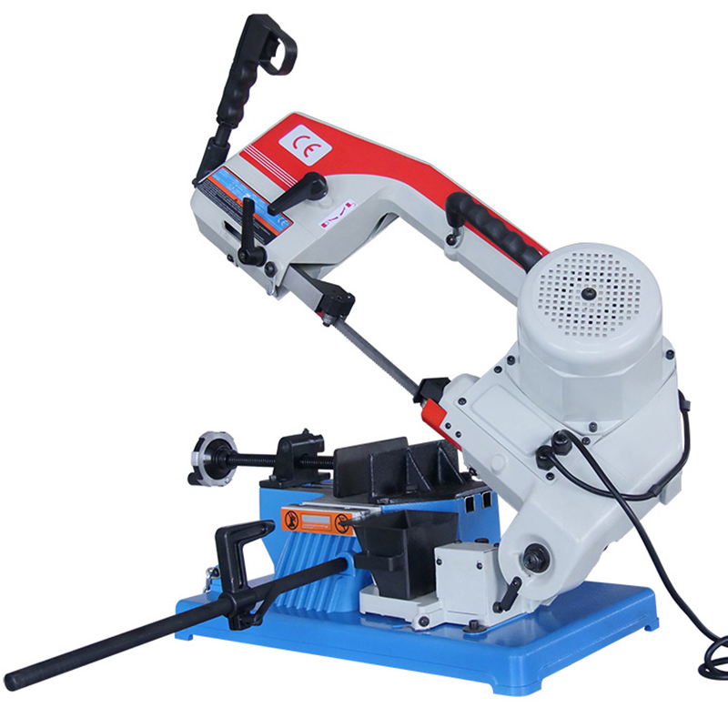 HX-100 Woodworking Band Saw Machine Multi-function Metal Cutting Desktop Electric Saw Household Small Corner Oblique Angle Saw