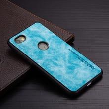 Ammyki moda caso de silicone macio para xiaomi mi 5 5S 6a caso de couro do plutônio para xiaomi redmi nota 5a prime y1 lite