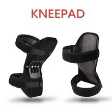 Stabilizer Knee-Booster for Support-Power Spring-Force Non-Slip-Lift Pain-Relief Breathable