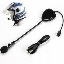 Высокое качество HD V1 Интерком шлем Bluetooth гарнитура шумоподавление легко принимать Hi-Fi музыка наушники долгое время ожидания говорящий