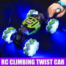 1:18 Stunt RC Car 4WD Gesture Sensing Twisting Vehicle Drift