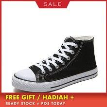 BOUSSAC Вулканизированная обувь; однотонная парусиновая обувь на шнуровке с высоким берцем; Мужская модная классическая Повседневная обувь на плоской подошве; цвет белый, черный