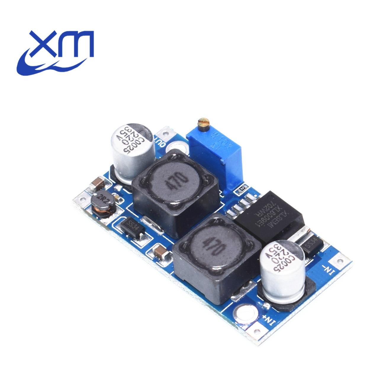 10 pçs/lote DC-DC módulo de fonte de alimentação módulo xl6009 pode aumentar a pressão impulsionador módulo super lm2577 DC-DC impulsionador step-up módulo