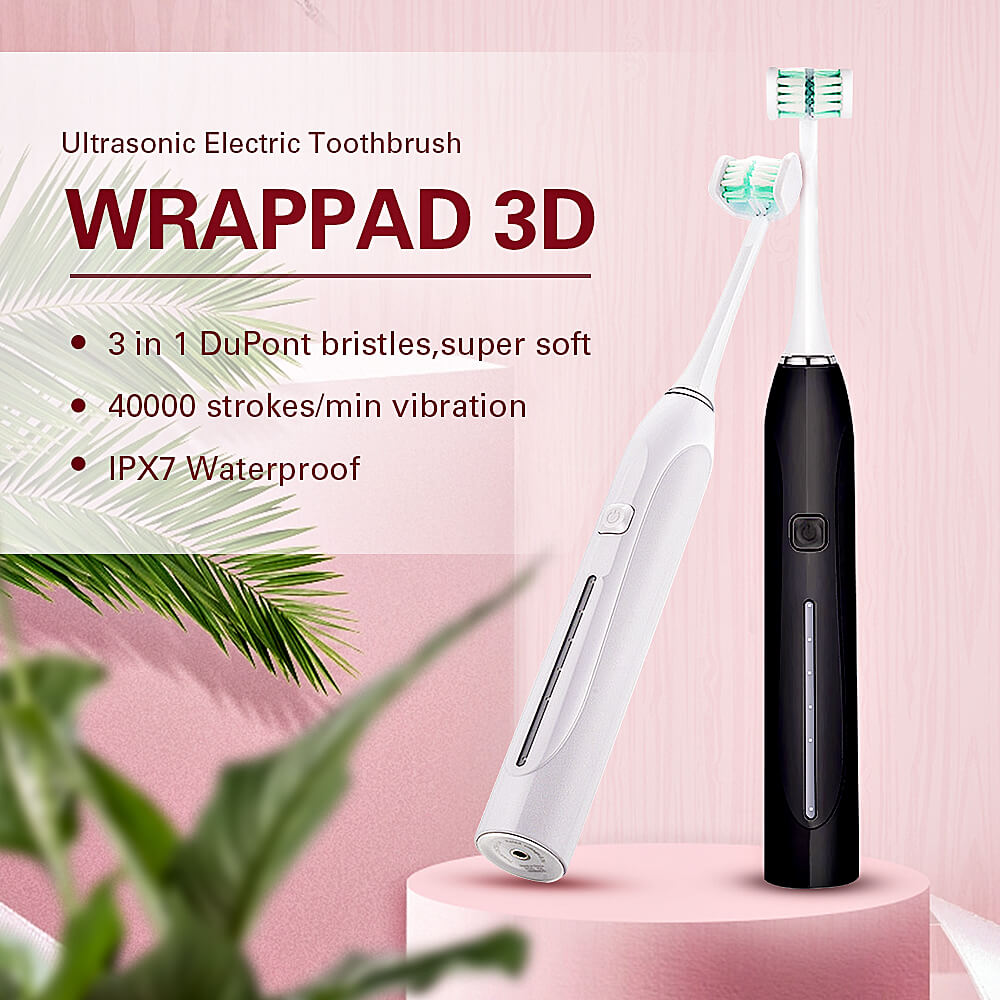 5 Mode Sonic Electric Toothbrush Three-Side USB Rechargeable 3D Ultrasonic U-Shaped Teeth Cleaning Dental Brush Teeth For Adults