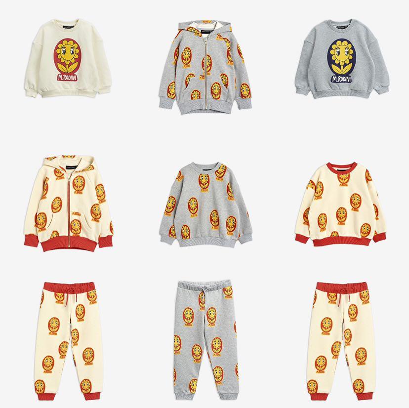 Mini 2020 New Autumn Winter Long Sleeve Sweater Baby Girls Costumes Children Tracksuits Boys Sweatshirts Kids Pants Christmas 1