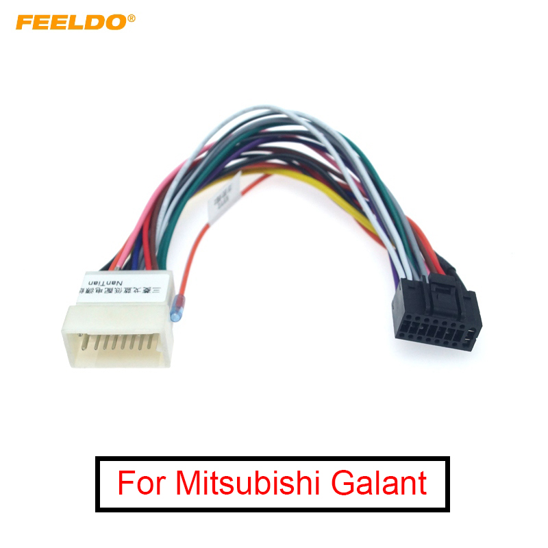 [SCHEMATICS_4NL]  FEELDO 1Pc Car Radio Stereo 16PIN Wiring Harness Adaptor For Mitsubishi  Galant Audio Power Calbe Plug Head Unit Harness|Cables, Adapters & Sockets|  - AliExpress | 16 Pin Wiring Harness |  | AliExpress