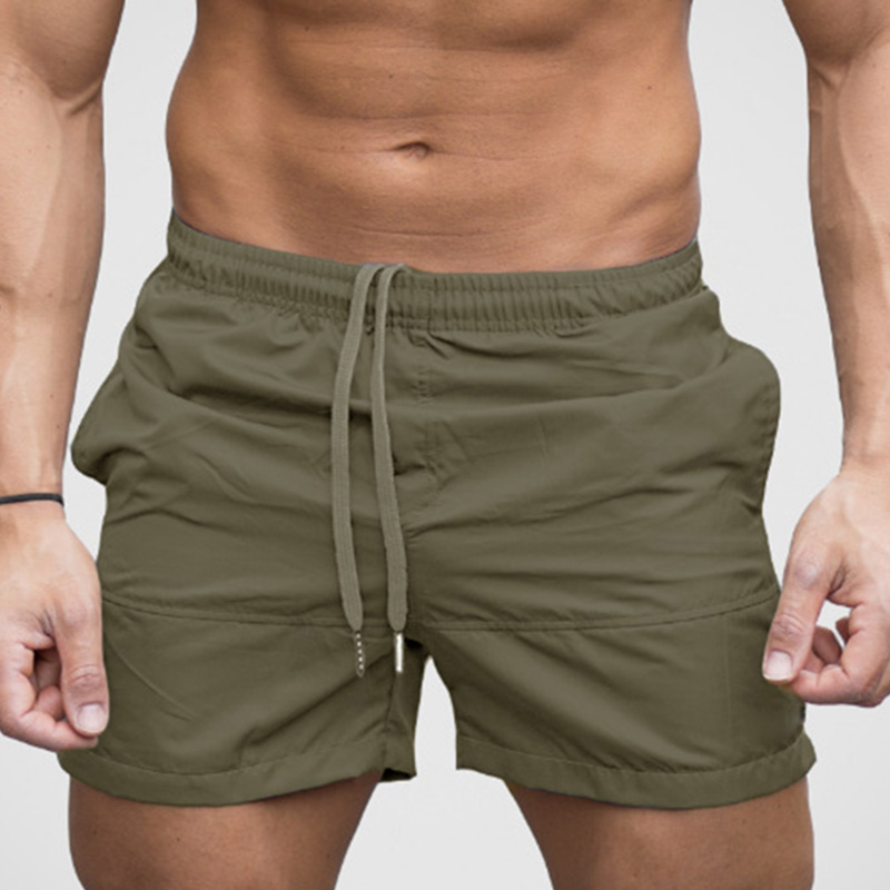 Breathable Sport Short Trousers Wear Sweatpants Gym Workout Running Excercise Bodybuilding