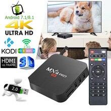 MXQ Pro 4K Android Tv Box Mart Quad Core TV