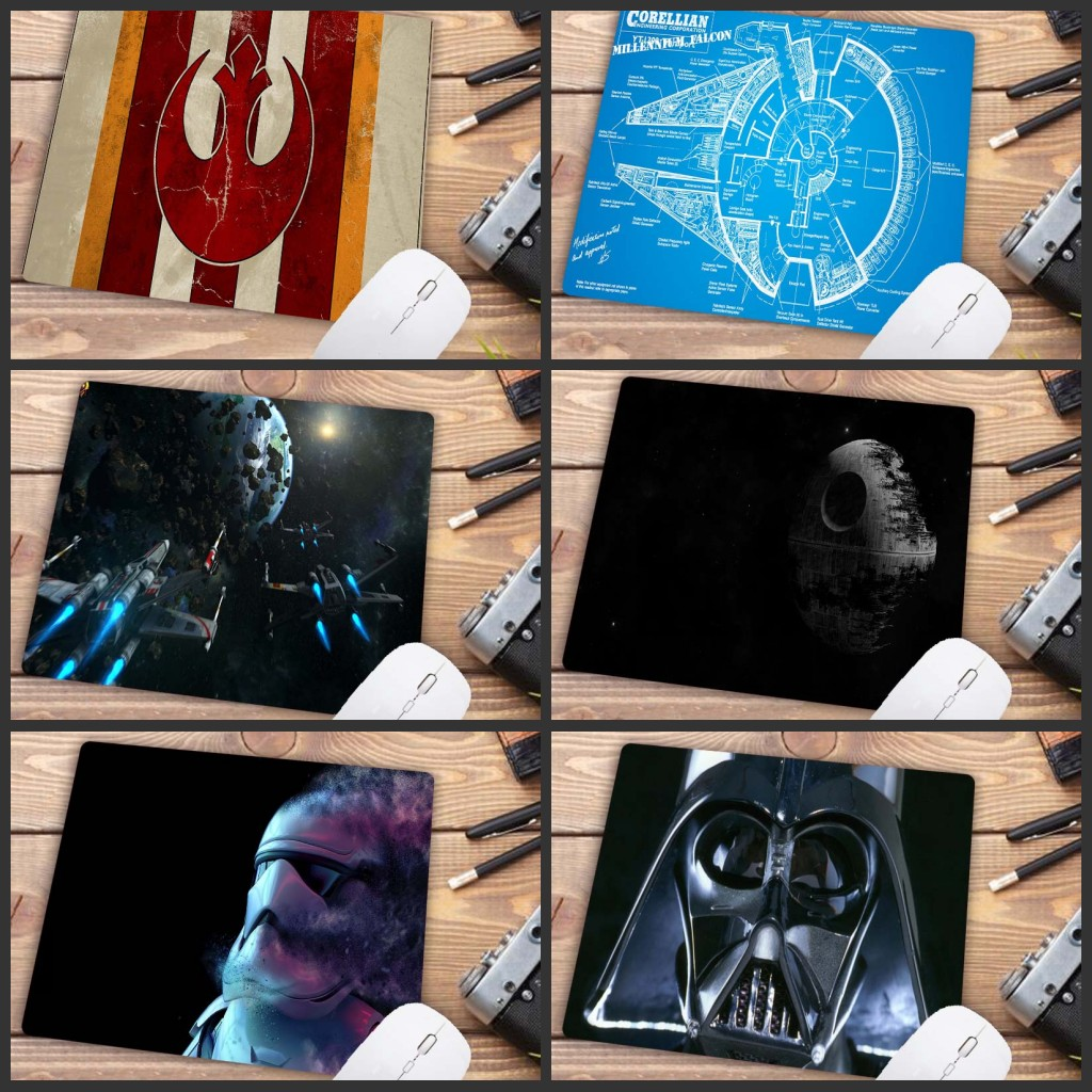 XGZ 22X18CM Big Promotion  High Quality Personality Star Wars High Speed New Mousepad Small Size Computer Desktop Game Mouse Pad