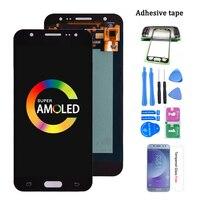Original Super AMOLED Für Samsung Galaxy J5 2015 J500 J500G J500Y J500M J500H LCD Display mit Touch Screen Digitizer Montage