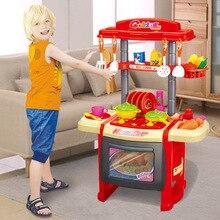 Лидер продаж, детский игровой домик, игрушки, модель, кухонная посуда, посуда, Тайвань, набор, светильник, музыка, девочка, Кук
