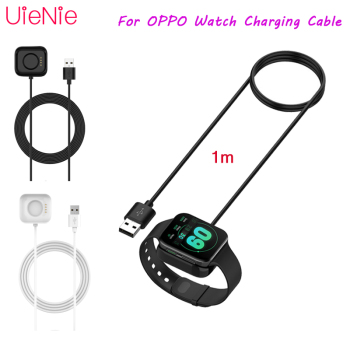 smart watch charger cable 1m usb charging cable cord fast charger line for polar m430 running watch accessories USB Fast Charging Cable For OPPO Watch 46mm 41mm Smartwatch Charger Portable Charging Cable Set Watch Charger Watch Accessory