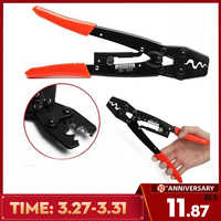 HS-16 Crimping Pliers Cable Lug Crimper Tool Bare Terminal Wire Plier Cutter 1.25-16 Square Millimeter Cutters Cutting Hand Tool