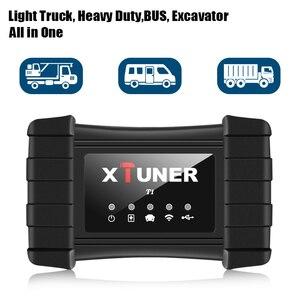 Image 5 - Neueste XTUNER T1 HD Heavy Duty Lkw Auto Diagnose Werkzeug Mit Lkw Airbag ABS DPF EGR Reset OBD2 Auto Diagnose scanner