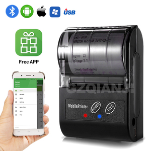 Image 1 - POS 58MM Bluetooth Thermische Empfang Drucker Tragbare Mobile Wireless Empfang Maschine für Windows Android iOS Telefon 80 mm/s geschwindigkeit
