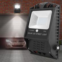 Светодиодный настенный светильник на солнечных батареях IP55, водонепроницаемый, с датчиком человеческого тела, светильник для внутреннего двора и гаража