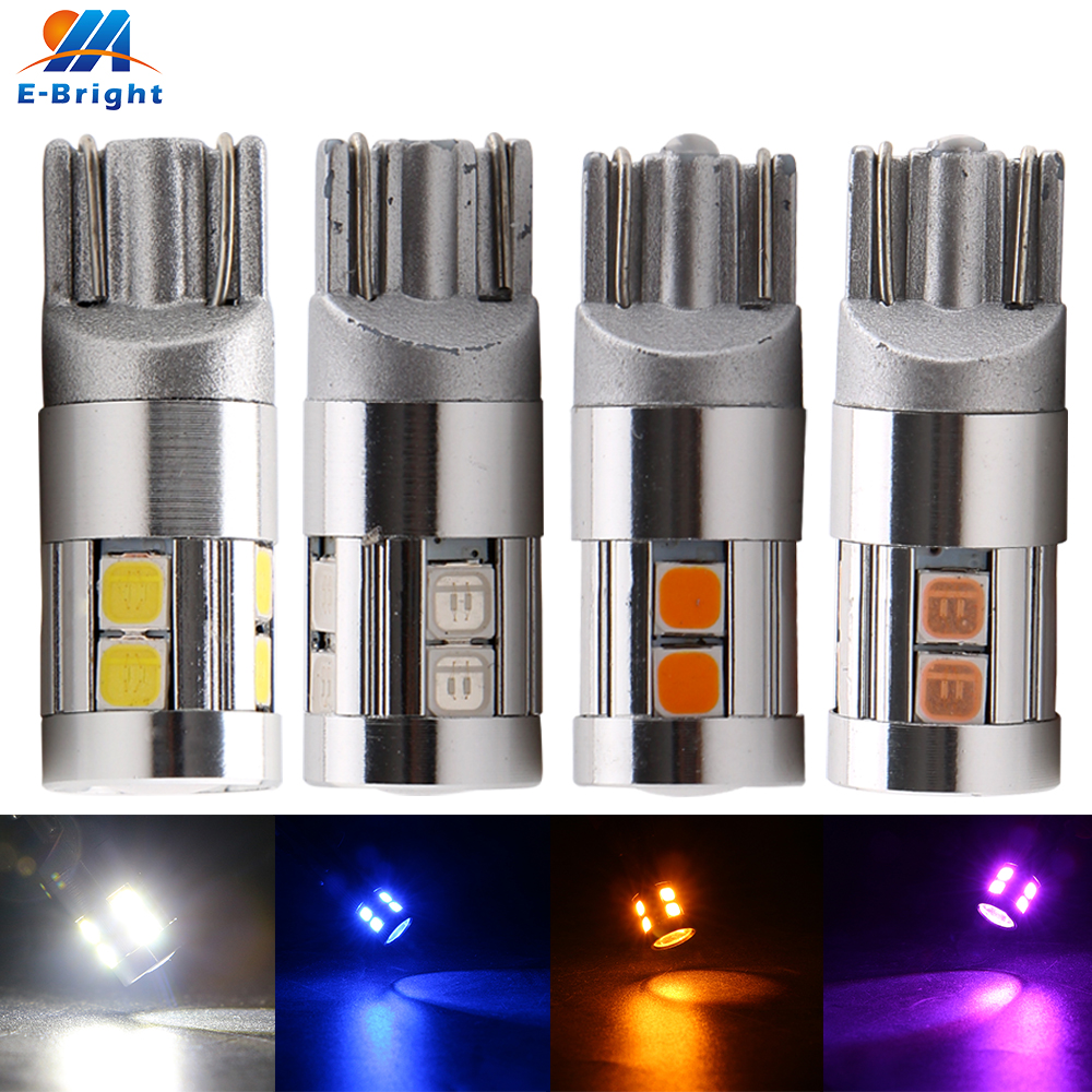 4pcs W5W <font><b>T10</b></font> Canbus 3030 9 SMD NO Error <font><b>Led</b></font> Bulb Tail Light Indicator White Ice <font><b>Blue</b></font> Red <font><b>Blue</b></font> Amber Pink Ice <font><b>blue</b></font> Light 12V Car image