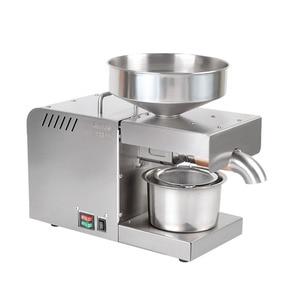 Image 1 - 110/220V Oil presser 610W Household stainless steel Oil press machine Peanut oil maker use for Sesame/Almond/Walnut