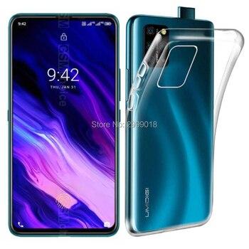 Перейти на Алиэкспресс и купить Для UMIDIGI S5 Pro Чехол для UMIDIGI S5 Pro прозрачный ТПУ силиконовый чехол для телефона чехол для UMIDIGI S5 Pro