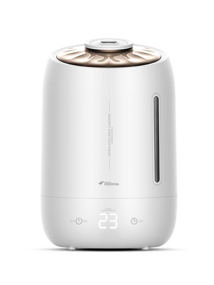 DEERMA 5L humidificateur d'air minuterie antimicrobien Ions d'argent pour femmes enceintes, nourrissons, enfants maison bureau chambre humidificateur