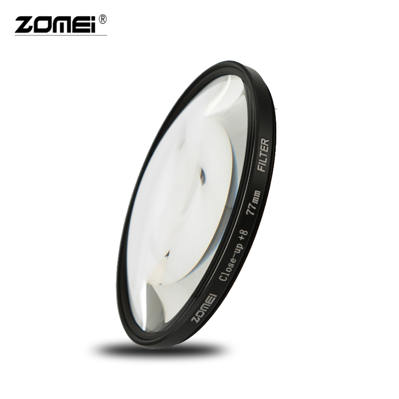 Image 3 - Zomei Macro Close up Lens Filter +1 +2 +3 +4 +8 +10 Optical Glass Camera Filter Enlarging Shooting for Canon Nikon DSLR CameraCamera Filters   -