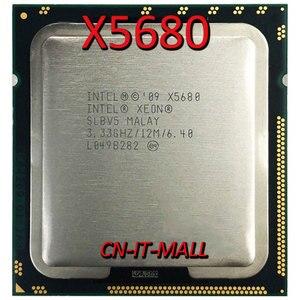 Процессор Intel Xeon X5680, 3,33 ГГц, 12 м, 6 ядер, 12 потоков, процессор LGA1366