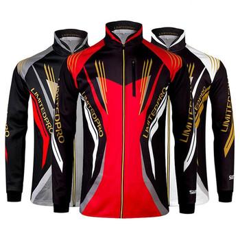 2019 nowa letnia odzież wędkarska męska kurtka z kapturem wodoodporna szybkoschnąca płaszcz koszula wędkarska turystyka rowerowa ubrania wędkarskie tanie i dobre opinie