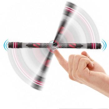 Śmieszne długopis obrotowy Spinning Gaming Pen dla dzieci studenci pisanie długopisy zabawki Kawaii długopis śliczne papiernicze artykuły szkolne tanie i dobre opinie MROOFUL CN (pochodzenie) Z tworzywa sztucznego 0 5mm Biuro i szkoła pen