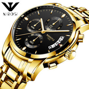 AliExpress Hot Selling Watch nibosi Business MEN'S Watch Multi-functional Six-pin Quartz Watch Wholesale