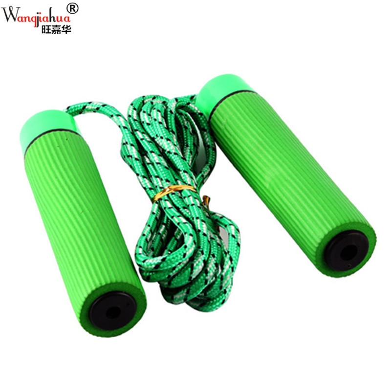 E Bearing Cotton Cover Jump Rope Sports Small Household Fitness Jump Rope Comfortable Wear-Resistant Cross Border Electricity Su