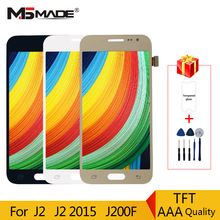 J200 LCD For Samsung Galaxy J2 2015 J200F J200H Touch Screen Display Digitizer Assembly Parts Adjustable brightness