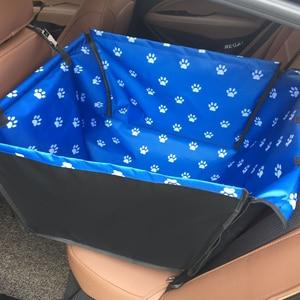Image 2 - CAWAYI Chó Giống Chống Nước Thú Cưng Tàu Sân Bay Chó Ghế Thảm Võng Đệm Mang Cho Chó Transportin Perro Autostoel Hond