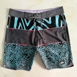 Quiksilver praia shorts de natação secagem rápida curto masculino verão esportes workout bottoms roupas troncos maiô calças-40