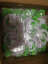 Frete grátis 10 Pçs/lote 1X2 1X4 1X8 1X16 1X32 PLC SC/APC SM 0.9 milímetros G657A1 PVC 1m FTTH De Fibra Óptica Splitter