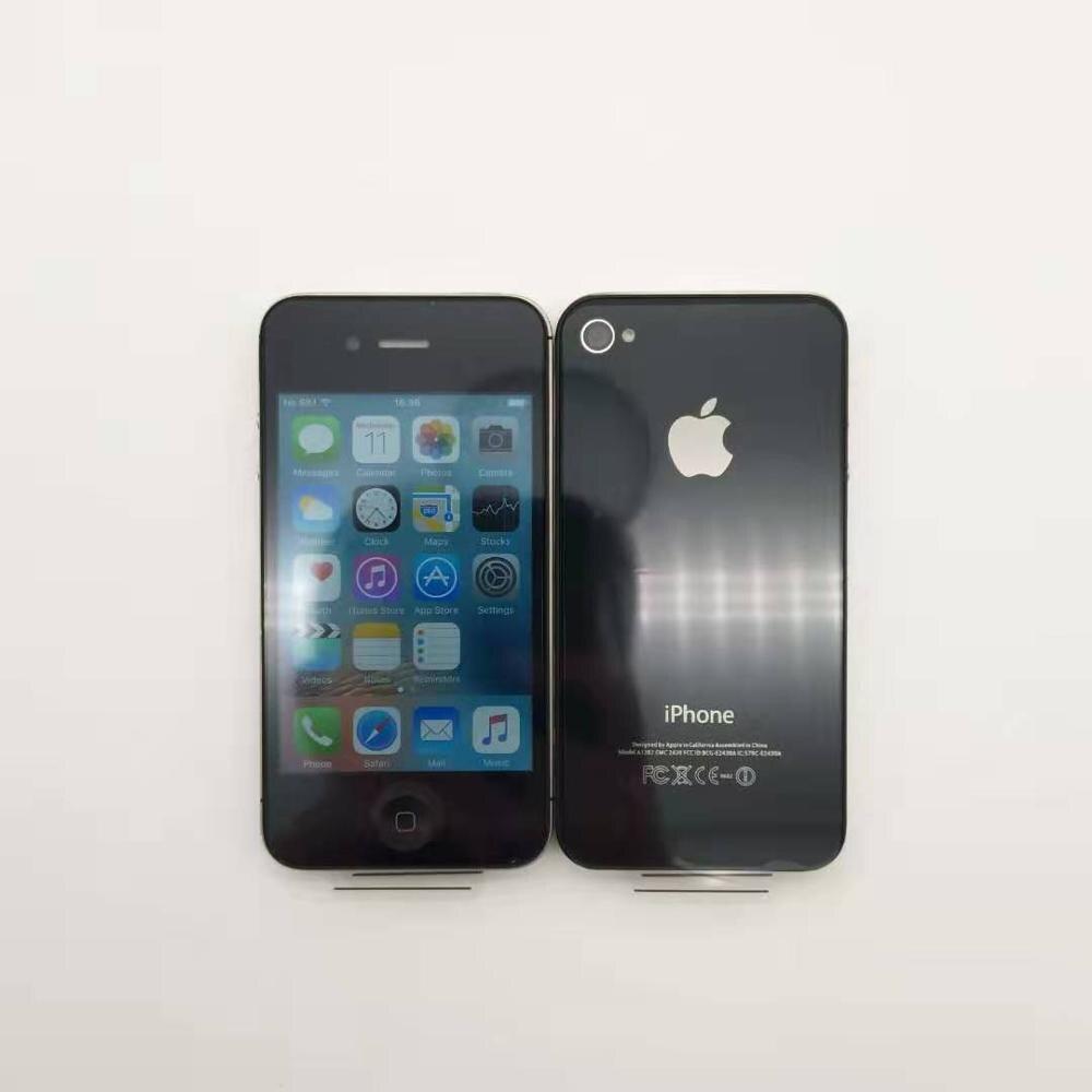 Original IPhone 4S Unlocked Mobile Phone Dual Core WCDMA 3G WIFI GPS 8MP Camera Apple Cell Phone Refurbished