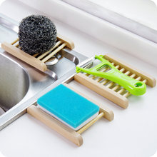 Оригинальная бамбуковая подставка для мыла ванной комнаты чехол