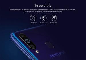Image 3 - Samsung Galaxy A60 6 Gb 64G Nfc 6.3 Inch Volledige Scree Snapdragon 675 Octa Core 6 Gb 3500 Mah 32MP Camere Mobiele Telefoons